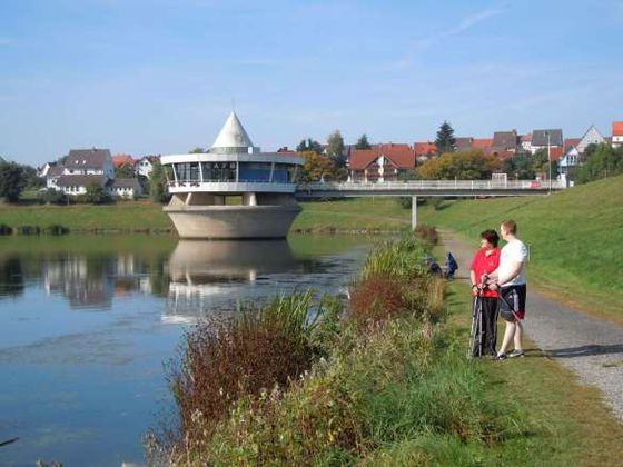 De Twistesee in Bad Arolsen-Wetterburg